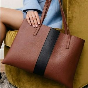 Vince Camuto Red Desert Tote